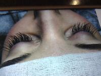 Eyelash extensions $59 April deals