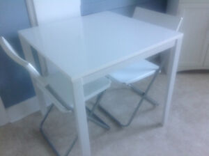 Ikea table set for 2