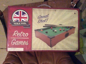 Mini Pool Table Never Opened. Stratford Kitchener Area image 2