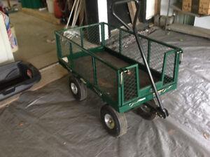 Green wagon lightly used!