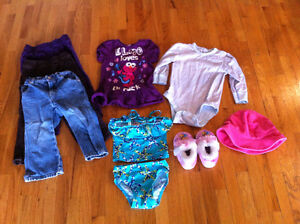 Girls 18-24 month and 24 month clothing lot