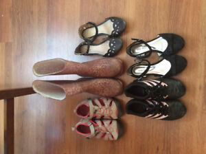 Girls shoes (size 13 and 1)