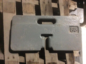 For sale new counter weights