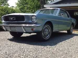 1966 Mustang 289 auto