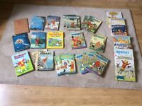 Large collection of Rupert the Bear Annuals