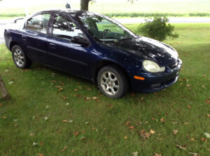Chrysler neon 2002