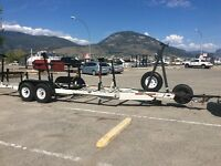 Large Sailboat Yacht trailer