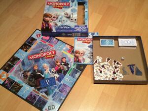 Monopoly Reine des neiges et Party junior