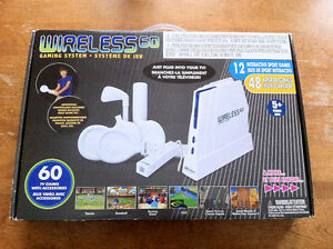 système de jeu WIRELESS 60 gaming system - Wii wannabe