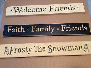 Wooden signs - great gift item Oakville / Halton Region Toronto (GTA) image 4