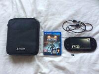 Ps vita black slim wifi+kill zone game+16GB chip+deluxe carry case