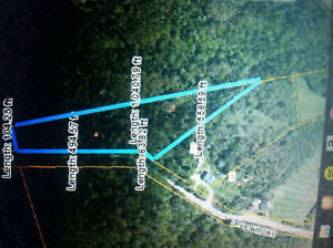 3 acre lot in  st martins great spot for camp