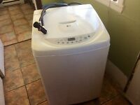 Apartment size portable washer