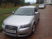 Audi A3 2.0 TDI S-LINE DSG gearbox 3dr 11 months m.o.t
