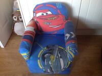 Childs Small Cars Armchair.