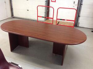 8' BOARDROOM TABLE