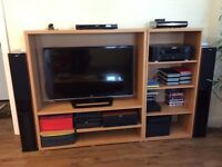 IKEA TV and stereo system cabinets