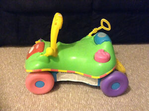 Fisher-Price ride and walker