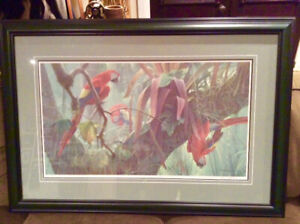 ROBERT BATEMAN FRAMED PICTURE