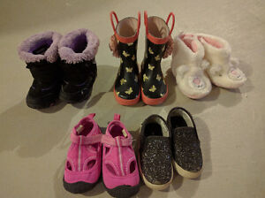 Girls Boots and Shoes - Size 6/7 Cambridge Kitchener Area image 1