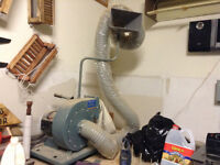 Dust collector great for your wood working area