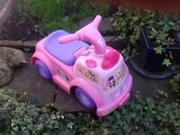 Fisher Price Pretty Little Princess Ride-on Car