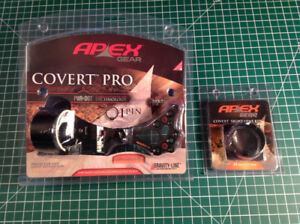 Apex Covert Pro archery/compound bow/hunting sight