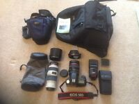 Canon EOS50D plus EF 24-105 1:4 L IS Lens and Accessories