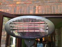 Firefly 2kw freestanding patio heater NEW