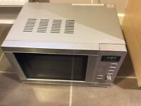 Microwave and Grill combination oven from Tesco