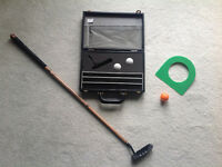 NEW.... TRAVELLING PUTTER... and Case