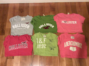 Hollister and Abercrombie shirts size small (like new)
