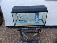 Juwel complete tropical aquarium fish tank