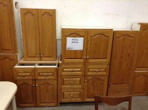 Oak cabinets number 7 at the Waterloo Restore