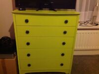 Green drawers - good clean condition