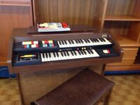 Hammond Electric Organ.