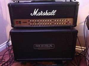 Marshall 410h and Mesa Boogie 212 Cabinet