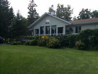 Best of both worlds. Year round home orsummer cottage. Lakeview.