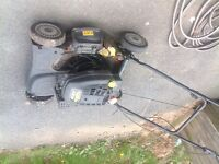 Self propelled mower for parts