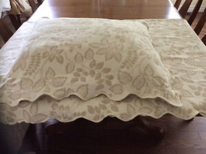 Martha Stewart coverlet