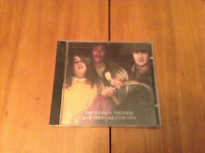 DISQUE CD MUSIQUE THE MAMAS AND THE PAPAS