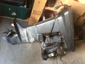 Mercury force 40 hp motor for parts