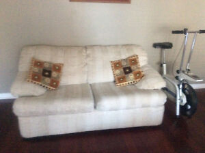 Sofa,Love seat and Chair ,custome made 3 wooden bar cahirs