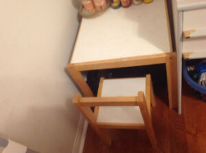 IKEA Kid table and chair