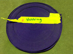 WEBBING ROLL Purple $10