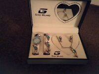 Gino Milano jewellery set BRAND NEW
