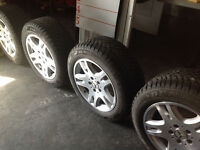 Mercedes Winter tires and wheels P225 15 R16