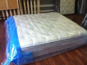 *NEW* SEALED PLASTIC SEALY POCKET COIL PILLOWTOP KING MATTRESS