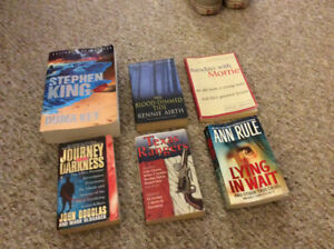 BOOKS $15 FOR LOT
