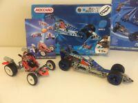 2 Meccano Model Set Toys - Excellent Condition